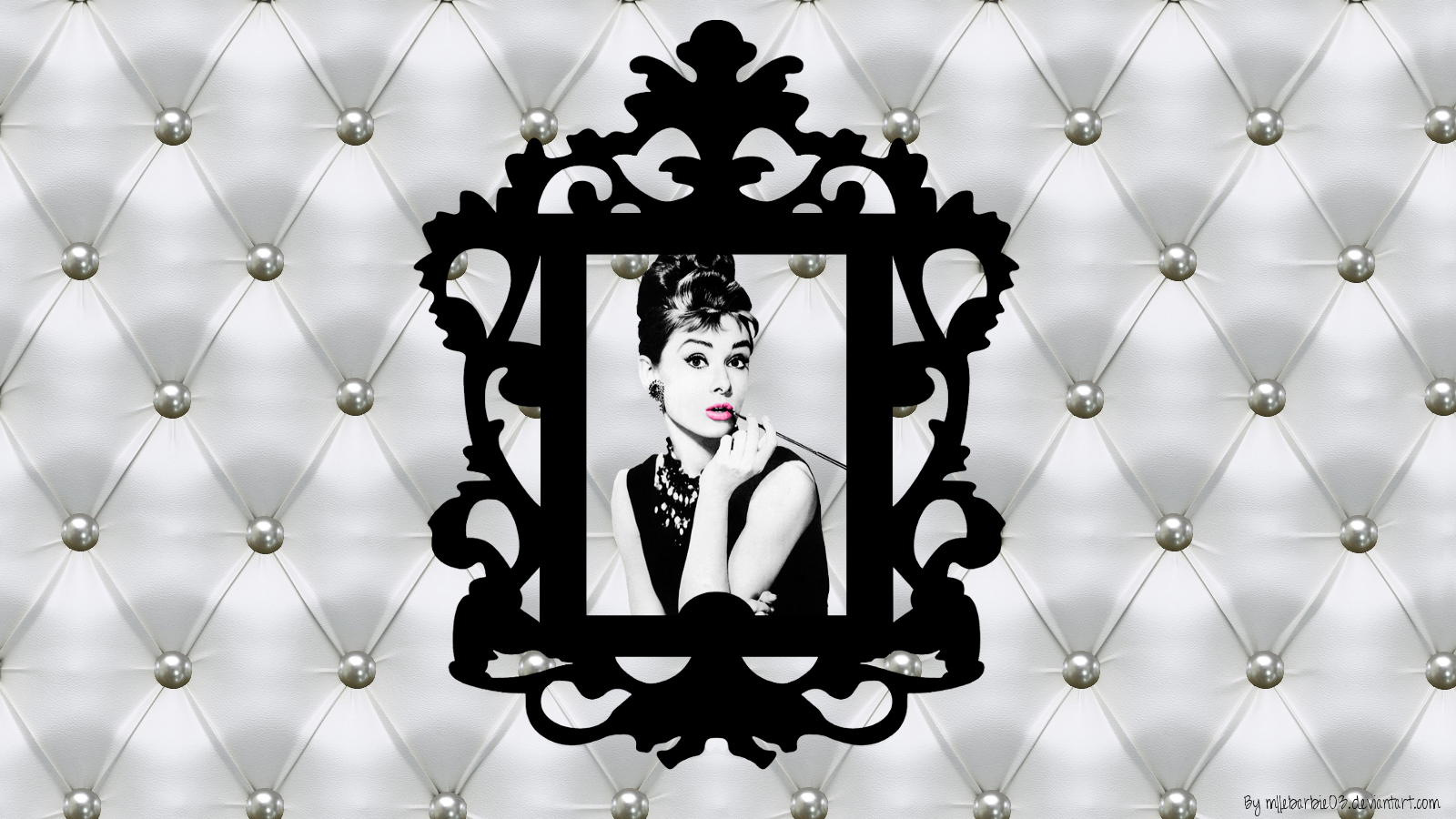 audrey_hepburn_chic_and_baroque_wallpaper_by_mllebarbie03-d50pm9s
